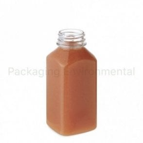 350ml Square Juice Bottle (Lid Sold Separately)
