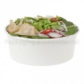 42oz White Paper Bowl