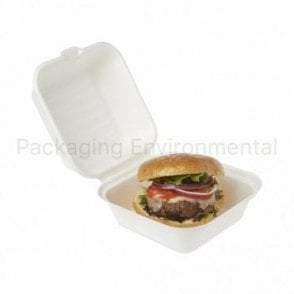 450ml Bagasse Takeaway Box