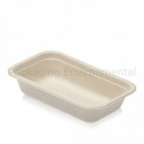 500ml Bagasse Tray