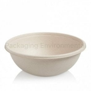 750ml Bagasse Buddha Bowl