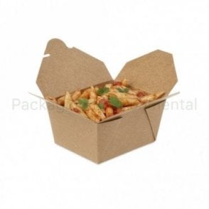 750ml Kraft Takeaway Box