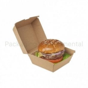 900ml Corrugated Paper Takeaway Box