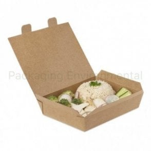 950ml Kraft Takeaway Box