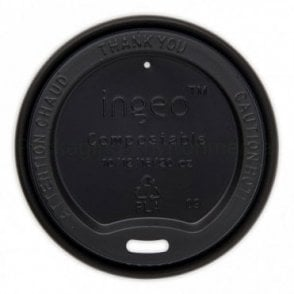 Black Lid for 10-20oz Paper Cups