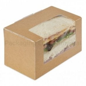 Brown Sandwich Box