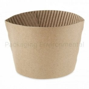 Kraft Sleeve for 10-16oz Paper Cups