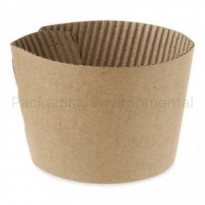 Kraft Sleeve for 8oz Paper Cups