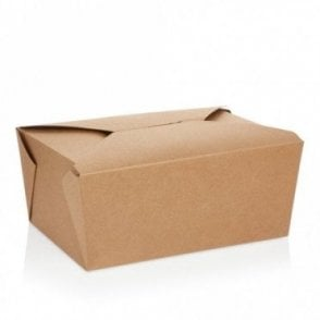 Large Kraft Takeaway Box - 2400ml