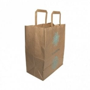 Large Paper Carrier Bag -  Love Koffee