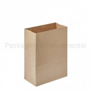 Plain Kraft Carrier Bag - No Handles - 220x110x300