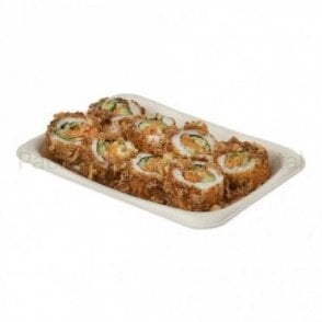 Rectangular Bagasse Tray - Large