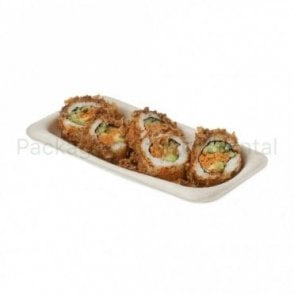 Rectangular Bagasse Tray - Small