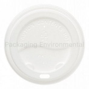 White Lid for 10-20oz Paper Cups