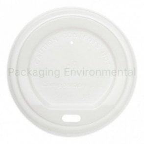 White Lid for 8oz Paper Cups