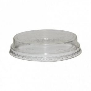 Raised Bioplastic Lid for 5oz-9oz Bioplastic Cups