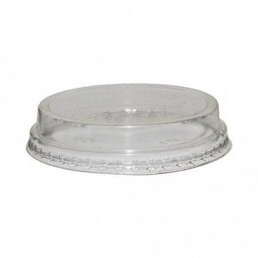 Raised Bioplastic Lid for 5oz-9oz Bioplastic Cups
