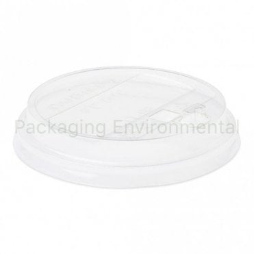 Raised Lid for 10-20oz Bioplastic Cups