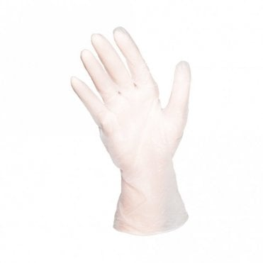 Small Clear Powder Free Gloves