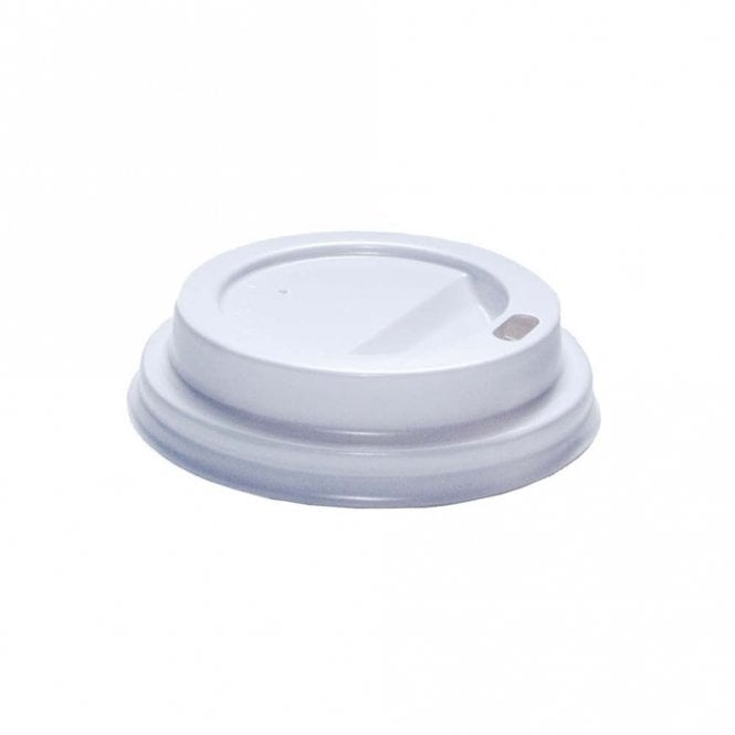 White Hot Drink Cup Lid - For 4oz Cups