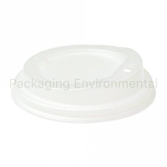 White Lid for 6oz Paper Cups
