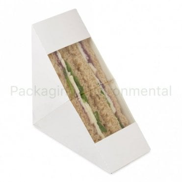 White Sandwich Wedge